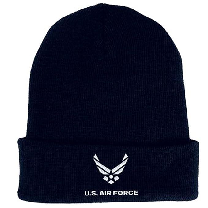 c163b5aaf17 Amazon.com  US Air Force Knit Cap United States Air Force Hats Men ...