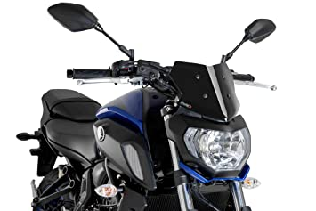 Puig 7654H Windscreen Naked New Generation Sport for Yamaha MT-125 15-17 Light Smoked