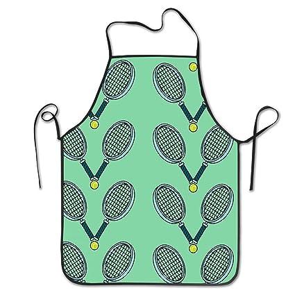 Amazon.com: COLOMAKE Tennis Ball and Racket Bib Apron ...