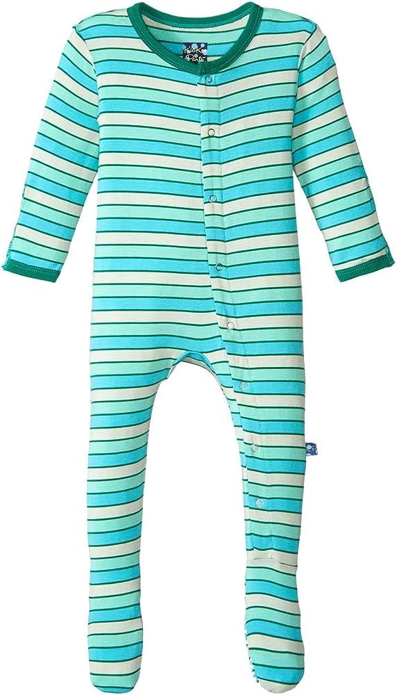 Kickee Pants Baby Boys Print Footie Prd-kpf175-nd