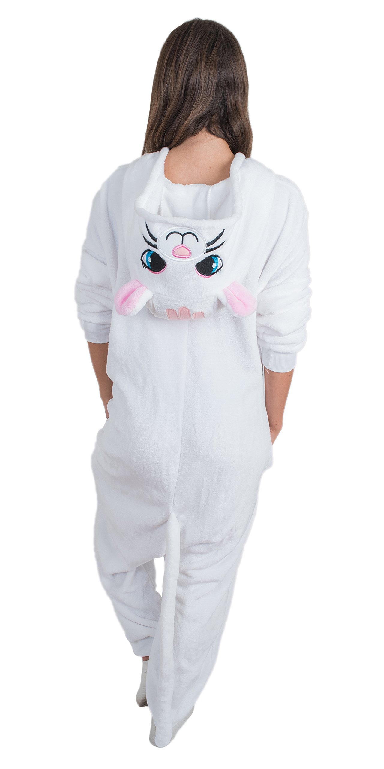 Bad Bear Brand Adult Onesie Cat Animal Pajamas Comfortable Costume With Zipper and Pockets (Small) by Bad Bear Brand (Image #5)