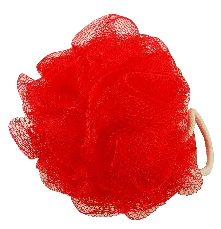 Divo Bath Sponge With Rope Body Exfoliate Puff Pouf Spa Loofah Mesh Net Ball Unisex Luffa- 1 Pc