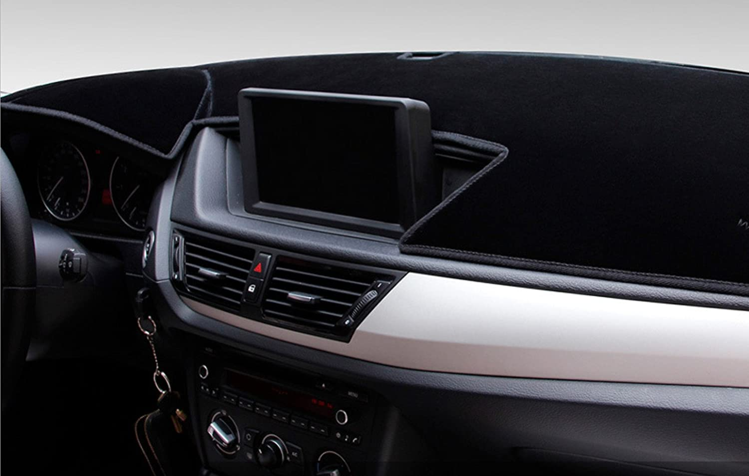 Custom Fit Dashboard Black Center Console Cover Mat Protector Sunshield Cover for Toyota Camry 2012 2013 2014 2015 2016 2017