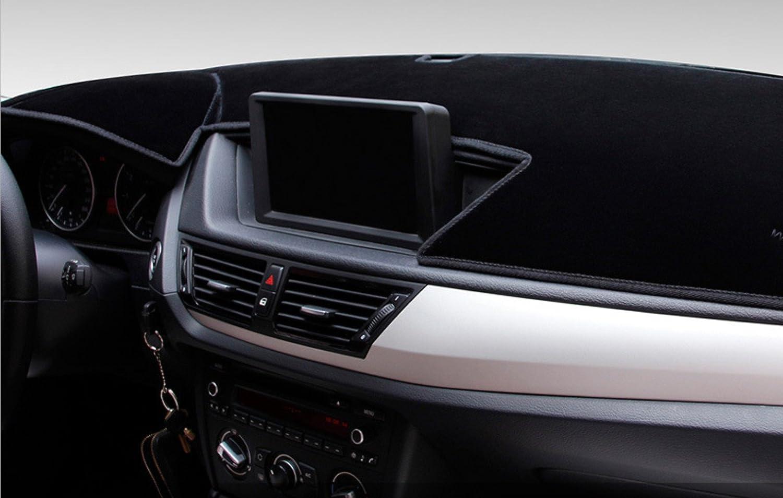 Custom Fit Dashboard Black Center Console Cover Dash Mat Protector Sunshield Cover for 2014 2015 2016 2017 2018 2019 Jeep Cherokee SUV AutofitPro