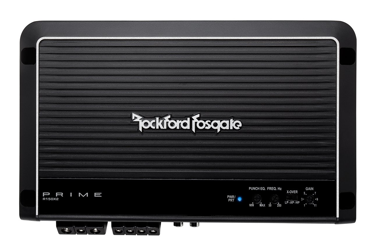 71FW8fMJh9L._SL1288_ amazon com rockford fosgate r150x2 prime 2 channel amplifier car Rockford Fosgate Amps at eliteediting.co
