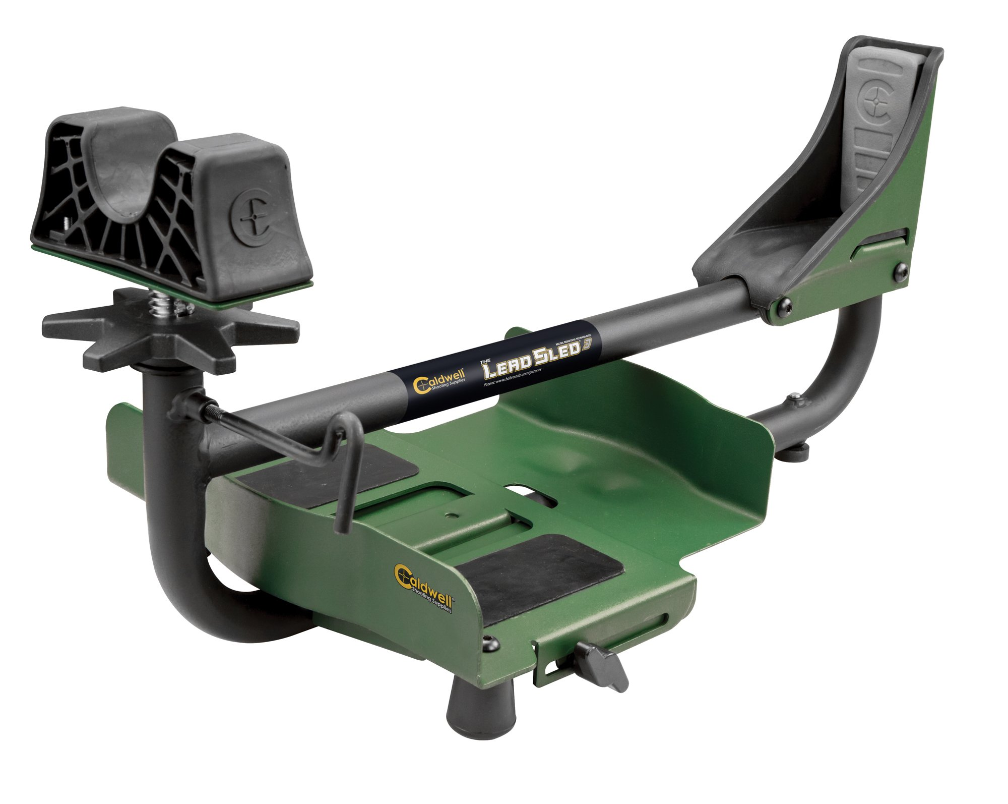 Caldwell Lead Sled 3 Adjustable Ambidextrous Recoil Reducing Rifle Shooting Rest for Outdoor Range by Caldwell