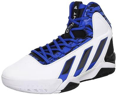 adidas - Zapatillas de Baloncesto para Hombre Blanco/Azul: Amazon ...
