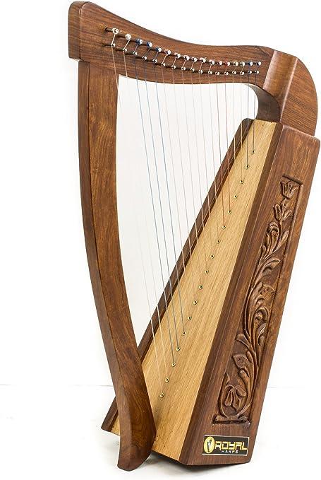 Royal Celtic Irish Knee Harp