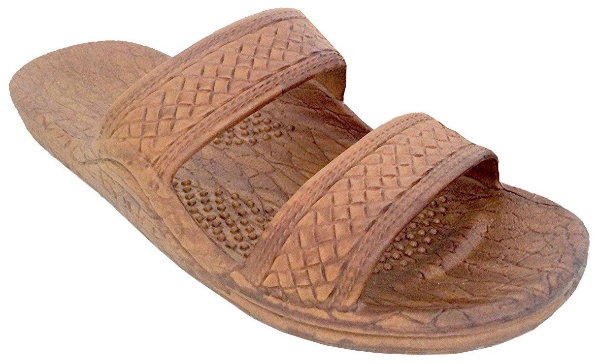 fbad1c0f829d0d Galleon - Pali Hawaii Unisex Adult Classic Jandal Sandal (Light Brown