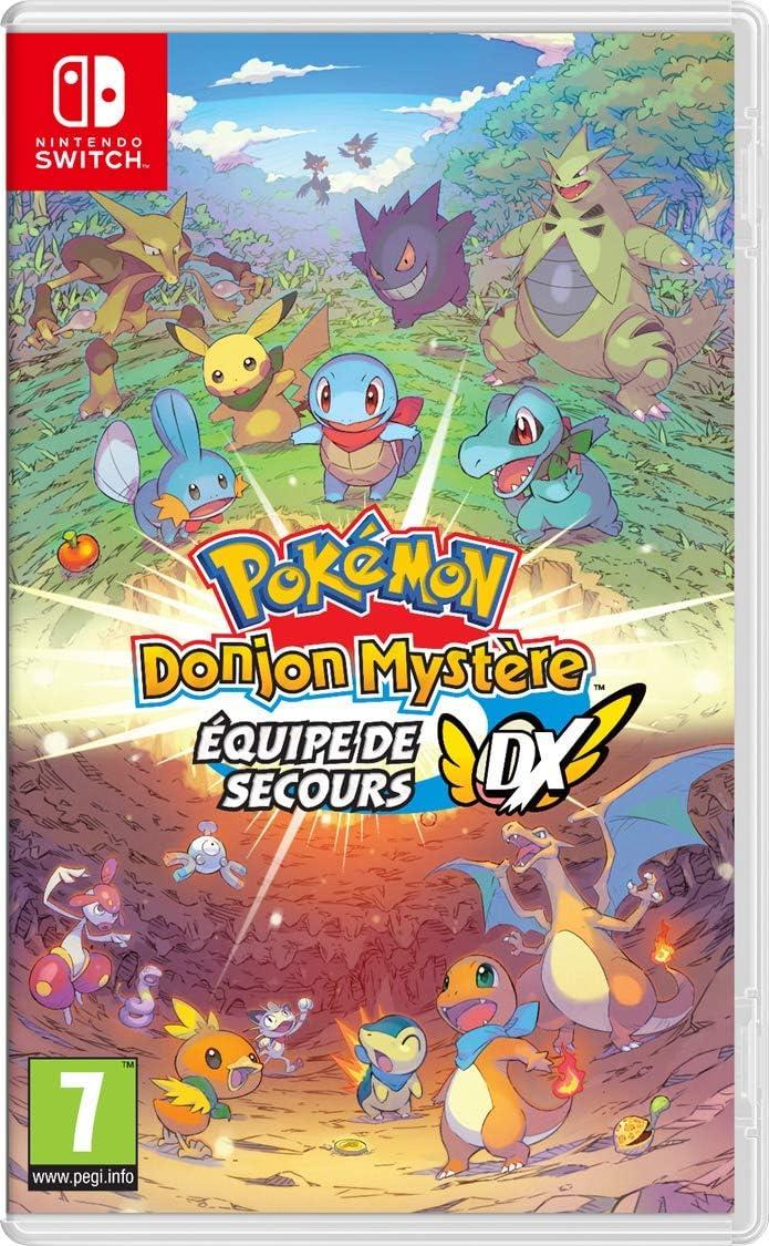 Pokémon Donjon Mystère Equipe De Secours Dx Amazon Fr Jeux Vidéo