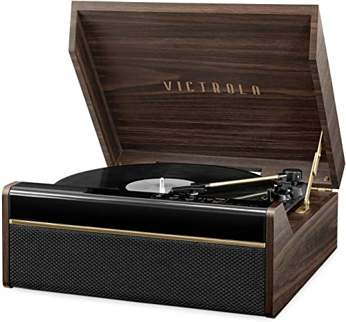 Victrola s 3-in-1 Avery Bluetooth Record Player with 3-Speed Turntable