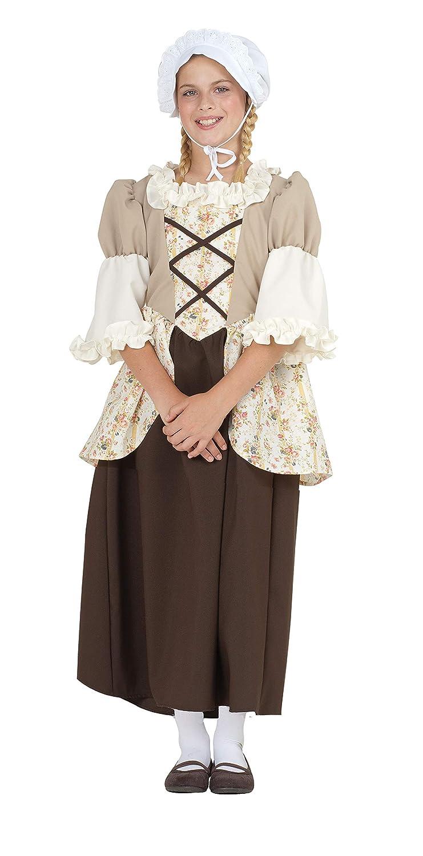 Disfraces RG 91361-M Colonial Medio Ni-o Bella Custume