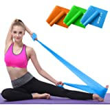 Hoocan Resistance Bands Set, Long Exercise Bands for Arms, Shoulders, Legs and Butt, Workout Stretch Bands for Physical…