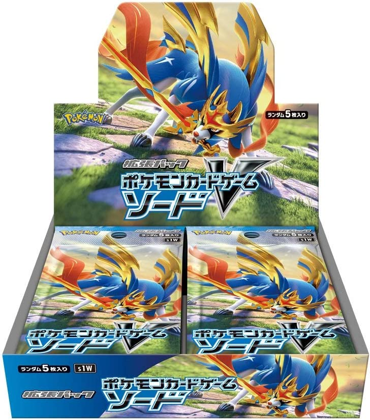 Pokemon Card Game Sword & Shield Expansion Pack Sword Box