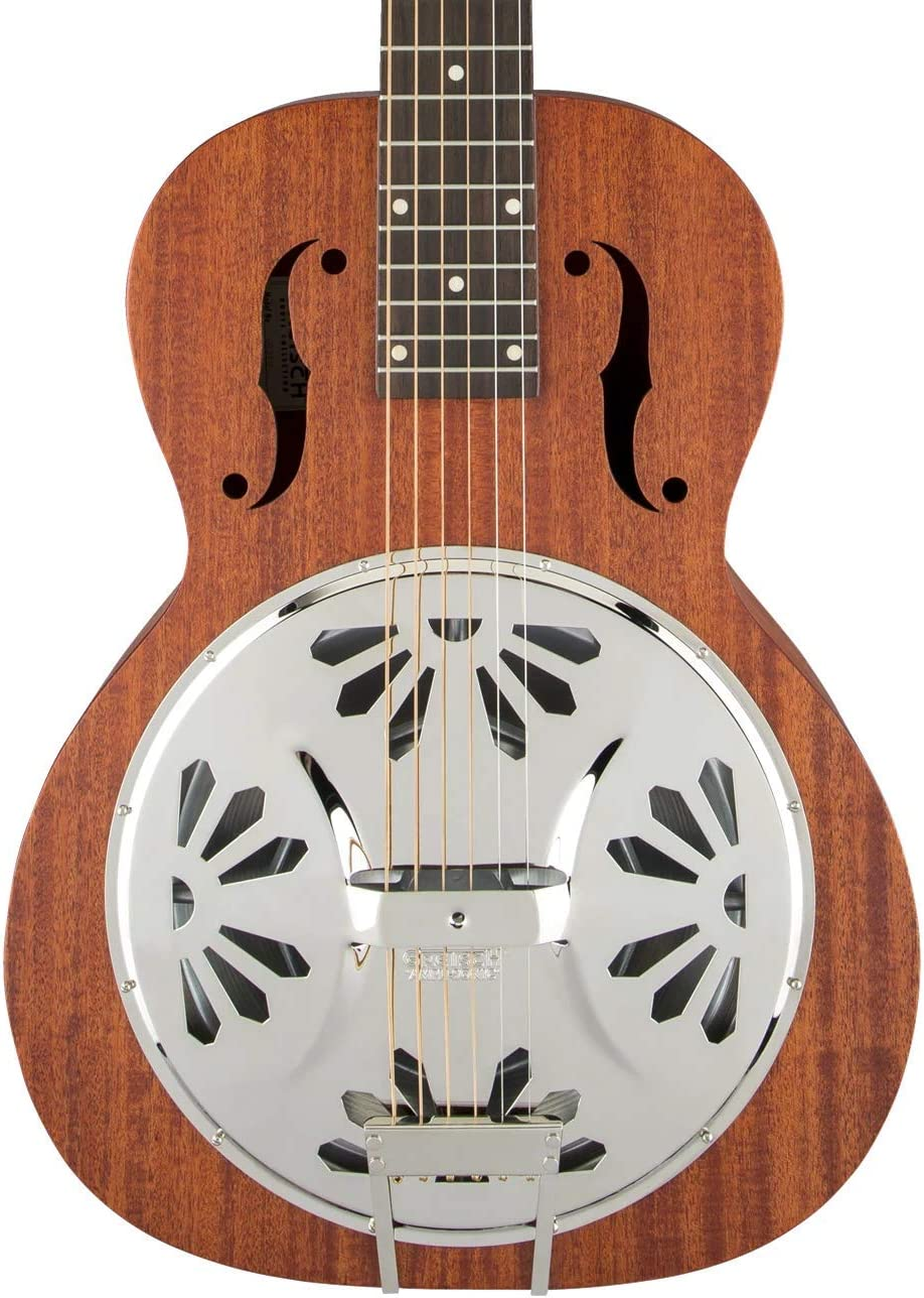 Gretsch G9210 Boxcar Square-neck, Mahogany Body Resonator - Natural, Padauk Fingerboard
