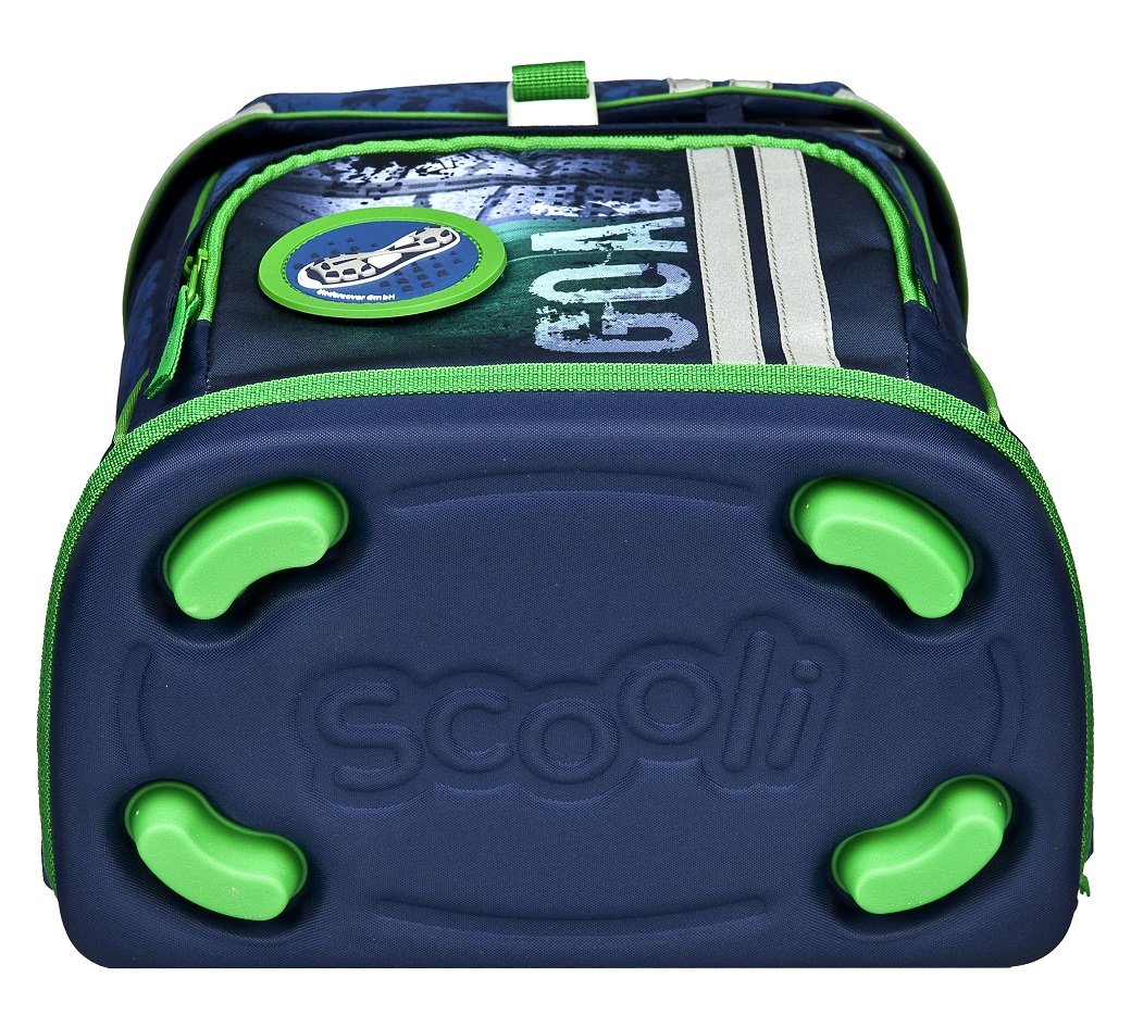 b95e1cfdb73c7 Familando Fußball Schulranzen-Set Scooli FlexMax 10tlg. mit Sporttasche