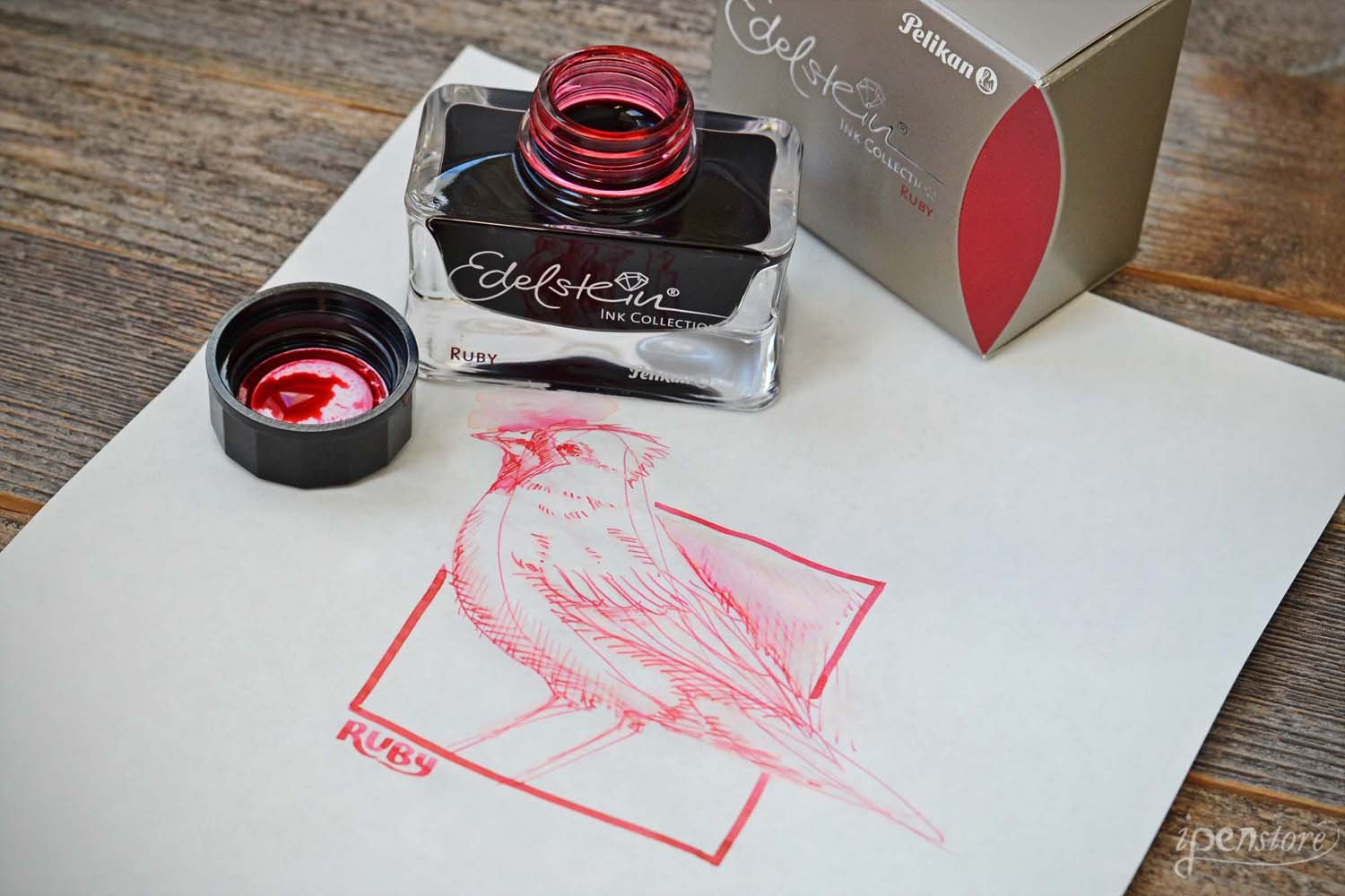 Pelikan Bottled Ink Refill - Edelstein Ruby 339358 by Pelikan (Image #4)