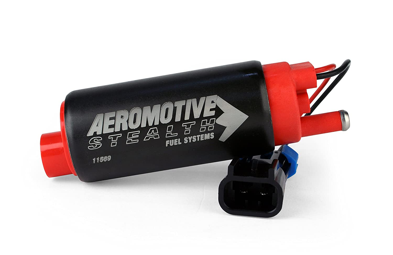 GM Applications Aeromotive 11569 340 Series Stealth in-Tank E85 Fuel Pump-Center Inlet-Offset