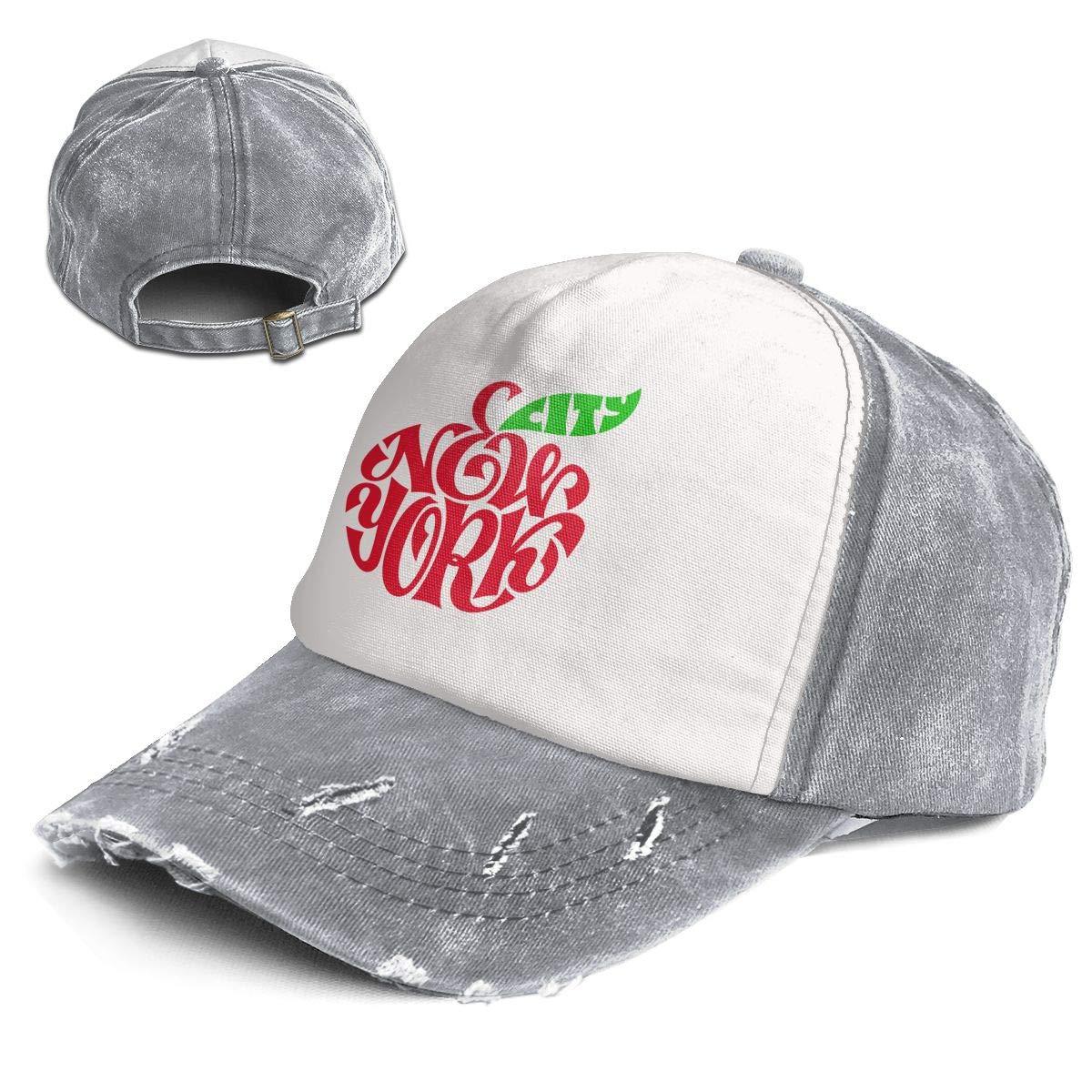 975704af Vintage General-Purpose New York Red Apple Multicolor Adjustable Baseball  Cap Dad Hat at Amazon Men's Clothing store: