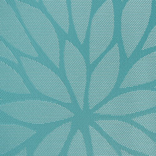 Large Product Image of SICOHOME Placemats,Set of 6,Blue Placemats Table Woven Vinyl Kitchen Placemats