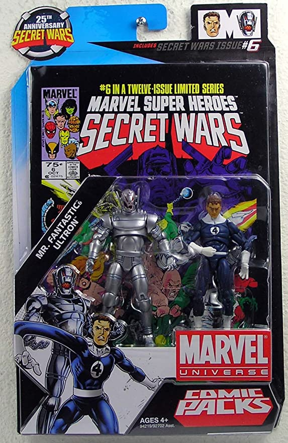 Marvel 2 Paquetes De Cómics Secret Wars # 6 - Señor Fantasic ...