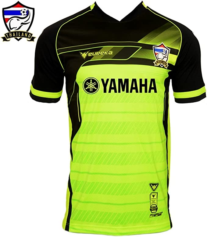 Thailand Eureka Yamaha T Shirt Neon Green yellow L
