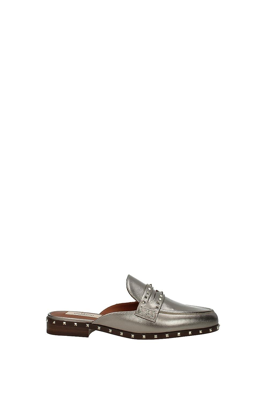 Zapatillas y Zuecos Valentino Garavani Mujer - Piel (0S0E73NDP) EU 38 EU|Gris