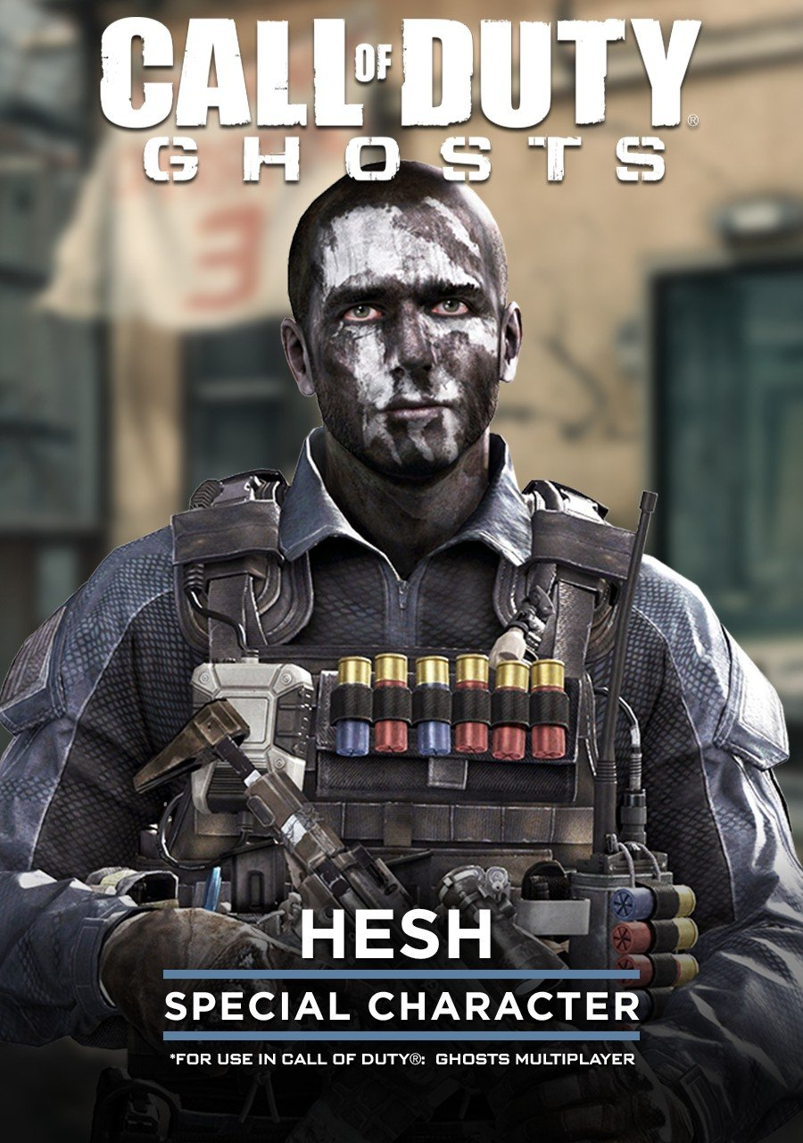 hesh call of duty ghosts characters