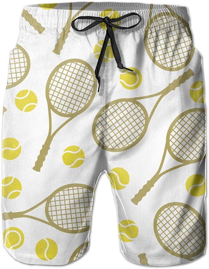 Ye Hua Deportes con Raquetas de Tenis Iconos para Hombre Impreso ...