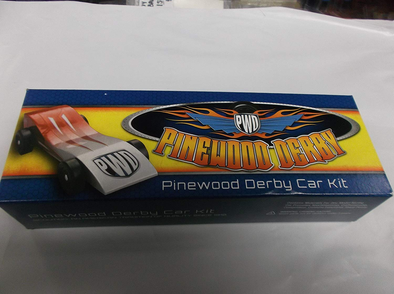 Scout Derby Grand Prix Pinewood Derby Car Kit Amazoncom