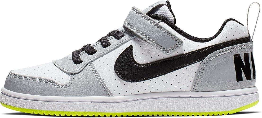 Shoes NIKE Court Borough Low (Psv) 870025 104 WhiteBlack