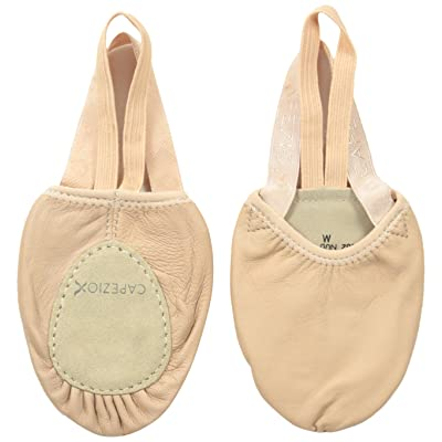 Capezio Leather Pirouette II Dance Shoe, Nude, Small/6-7.5 M US/Small | Ballet & Dance