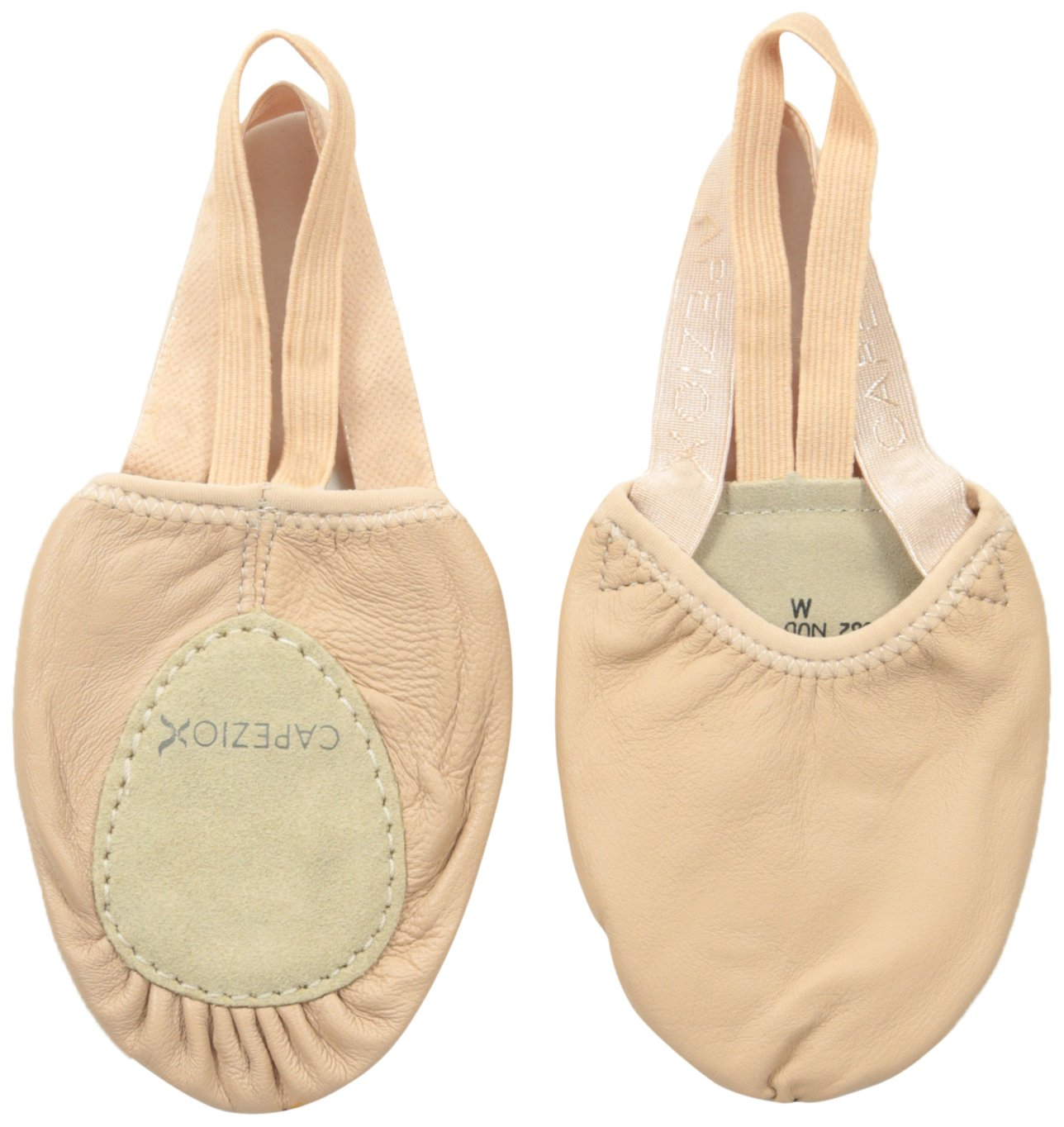 Capezio Leather Pirouette II Dance Shoe, Nude, Medium/8-9.5 M US