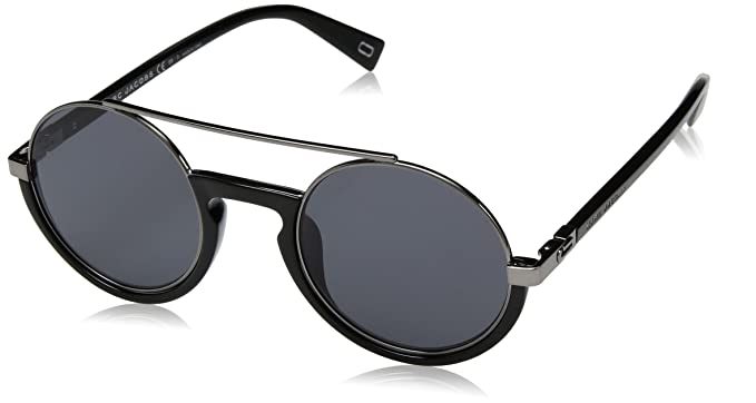 2fbba2d0094b Image Unavailable. Image not available for. Color  Marc Jacobs Men s  Marc217s Polarized Oval Sunglasses ...