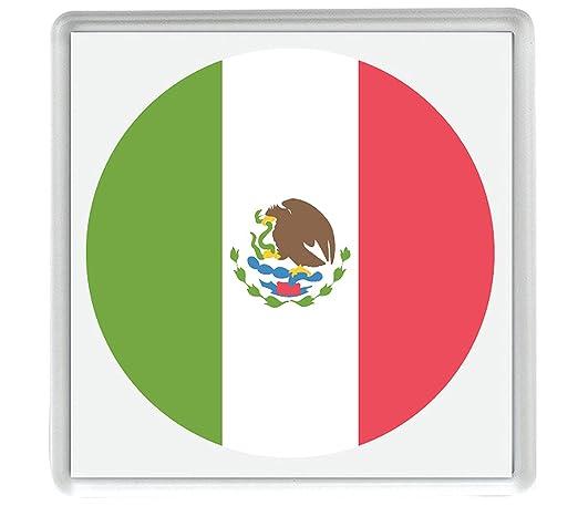 IamEngland Marca para México Emoji 58mm x 58mm imán de Nevera/Flag ...