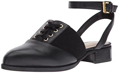 7cb0b60c7 Nine West Women s NIMAH Leather Loafer Flat Black 10.5 Medium US