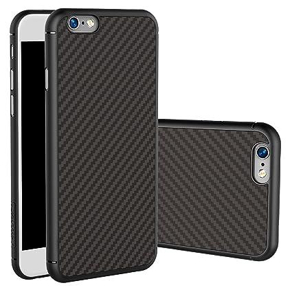 Amazon.com: iPhone 6/iPhone 6s Caso, Nillkin® [Fibra de ...
