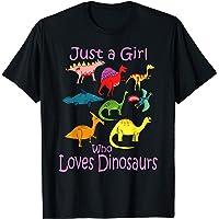 Ropa para Niña Dinosaurio & diseño de dinosaurio para niños Camiseta