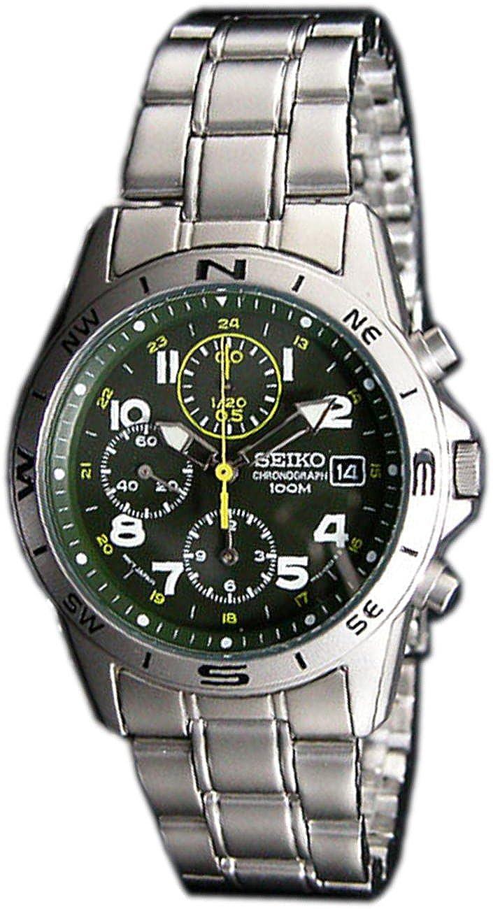 [セイコー] SEIKO 腕時計 クロノグラフ ミリタリー クロノ SND377P3 メンズ 海外モデル [逆輸入品] B00D4JE4BU