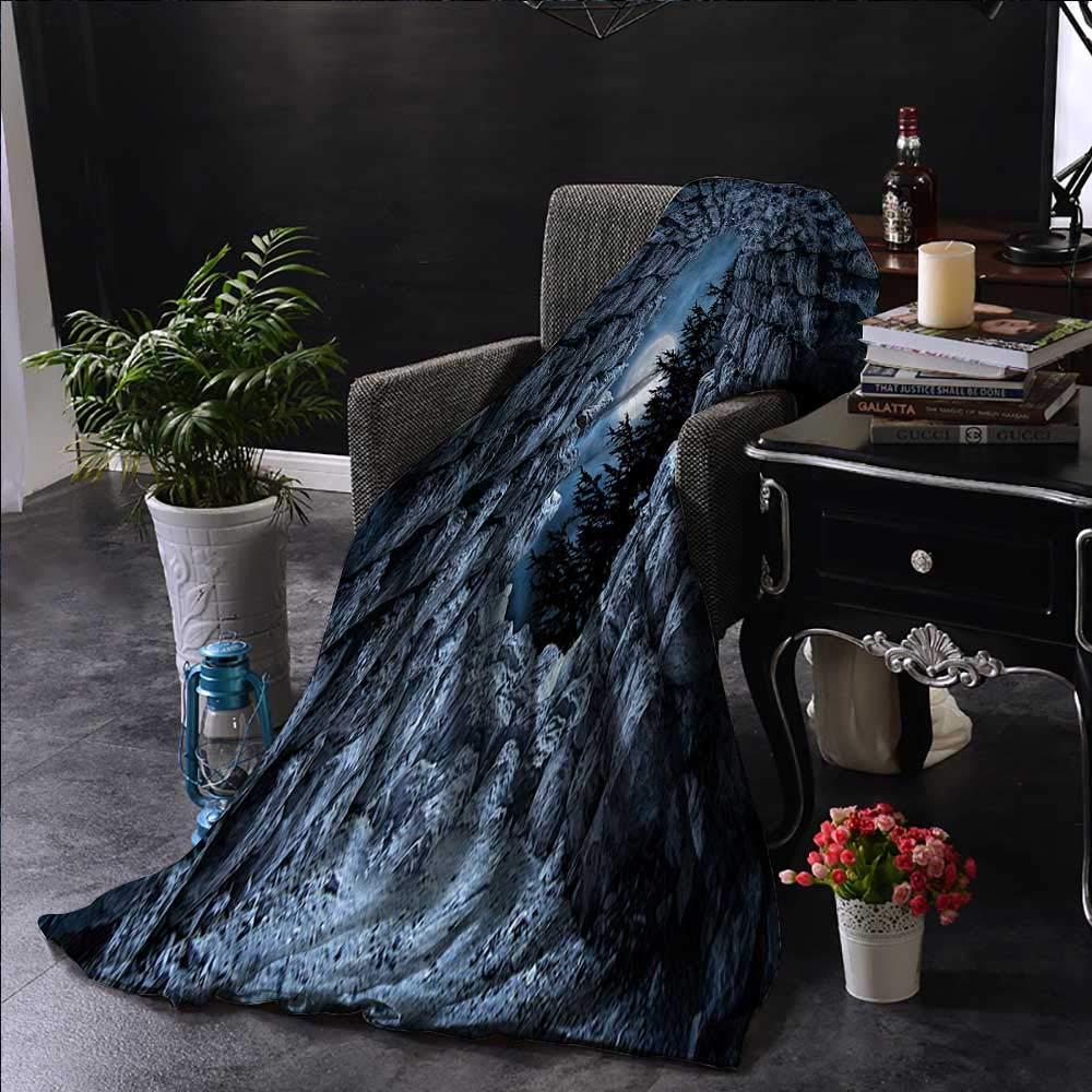 Amazon.com: Anyangeight Gothic Custom Design Cozy Flannel ...