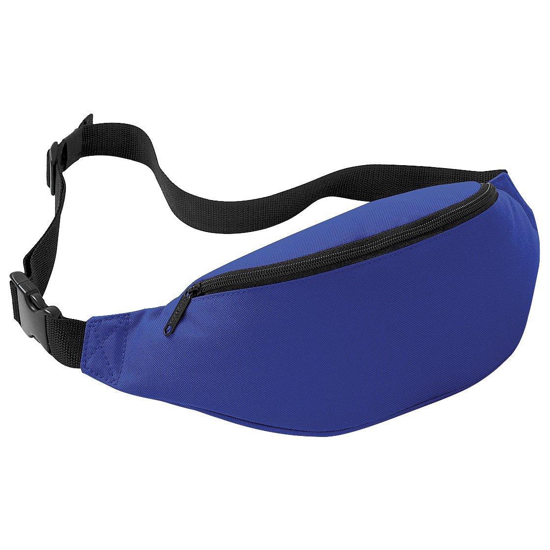 Bagbase Adjustable Belt Bag (2.5 Litres) (One Size) (Black) BG042BLAC