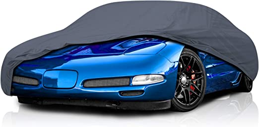 KAKIT Waterproof Car Cover for 1996-2004 C5 Stingray Red /& Black Combo Custom Fit C5 Cover No Faded UV Resistant for Chevy Corvette Outdoor//Indoor