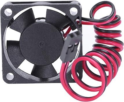 JVSISM Para RC Modelo Coche Esc 3010 Ventilador De Enfriamiento del Motor para Control Remoto Accesorios para Piezas De Coche 30X30Mm: Amazon.es: Juguetes y juegos