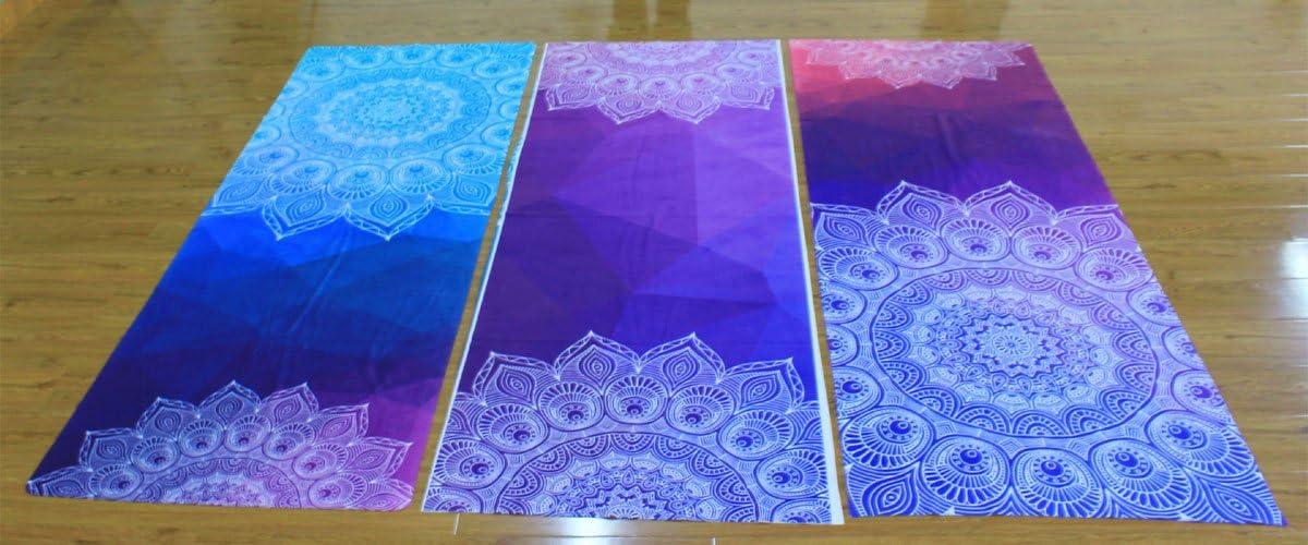 Yoga Towel DOXUNGO Thick non-slip yoga towels non-slip absorbent and heat resistant Premium Yogatuch