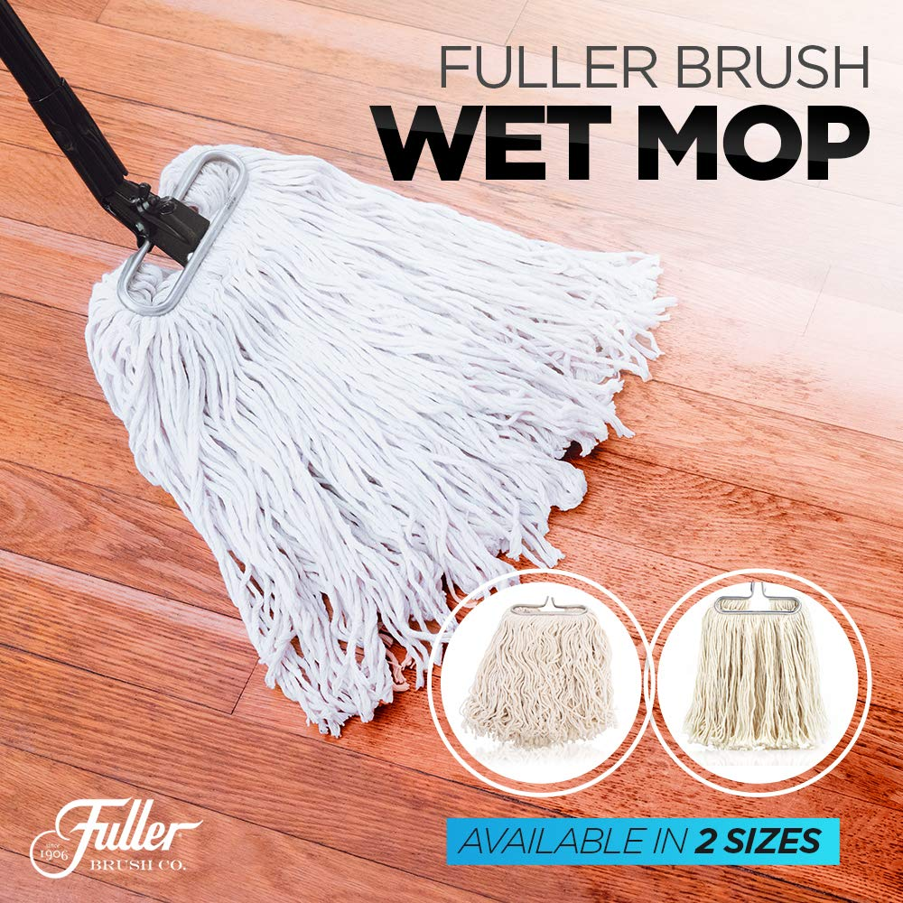 Fuller Brush Wet Mop Head - Absorbent & Professional Quality Cotton Yarn Floor Cleaner for Cleaning House, Commercial & Industrial Spaces by Fuller Brush (Image #3)