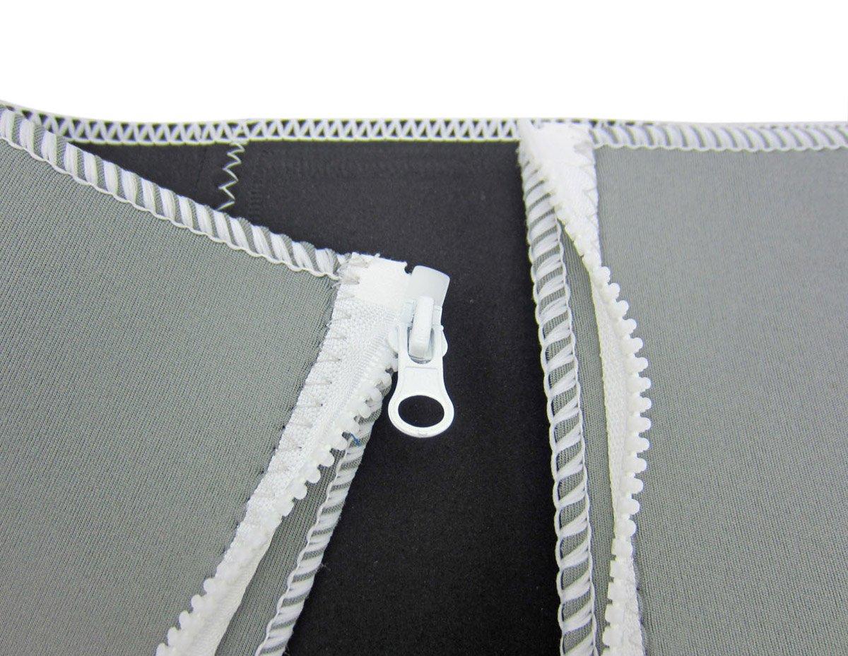 35-55 Waistline 5 Zipper Slimming Belt Weight Losing Waist Trimmer