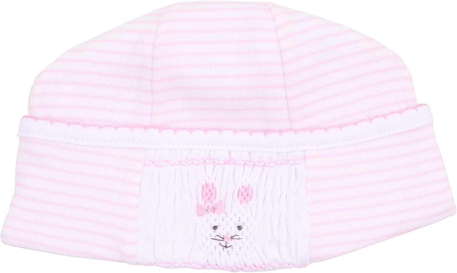 Magnolia Baby Baby Girl Blessed Baby Smocked Hat Pink