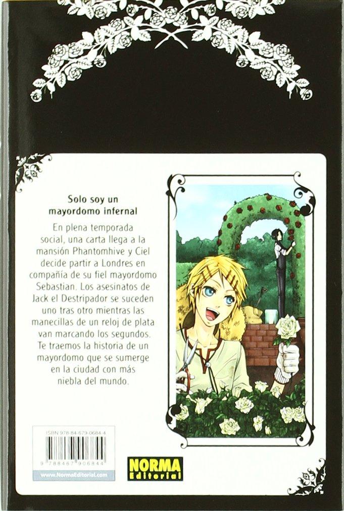 Black Butler 2 (Spanish Edition): Yana Toboso: 9788467906844: Amazon.com: Books