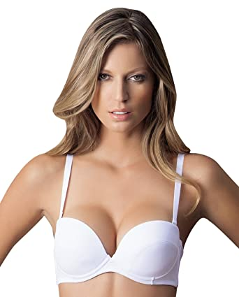 ddc2f714260ff Laura White Strapless Convertible High Quality Bra  SL000014 (38B)   Amazon.co.uk  Clothing