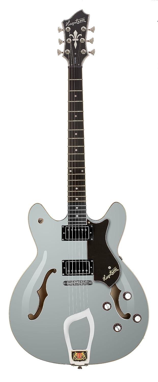 Hagstrom Viking blanco guitarra eléctrica hueca y Semi-Hollow ...